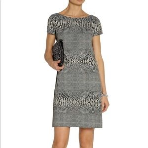 Issa London Snack-jacquard Dress Midi Size 12